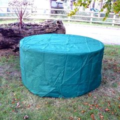 Heavy Duty 130cm Round Table Waterproof Cover