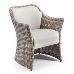 Sandbanks AquaMax Rattan Outdoor Garden Dining Armchair. Outdoor dining chair