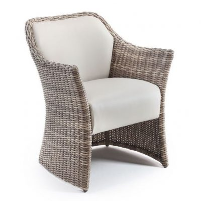 Sandbanks AquaMax Rattan Outdoor Garden Dining Armchair. Outdoor dining chair