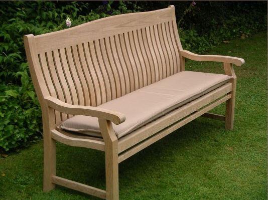 Bench Outdoor Cushion 150cm Sandstone