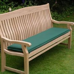 120cm Outdoor Bench Cushion. 150cm Outdoor Bench Cushion. Forest Green. 150cm Outdoor Bench Cushion