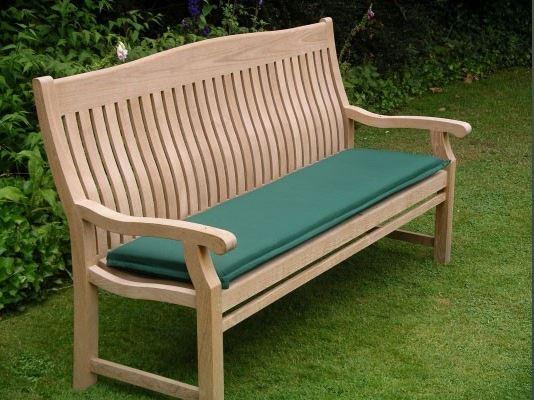 120cm Outdoor Bench Cushion. 150cm Outdoor Bench Cushion. Forest Green. 150cm Outdoor Bench Cushion