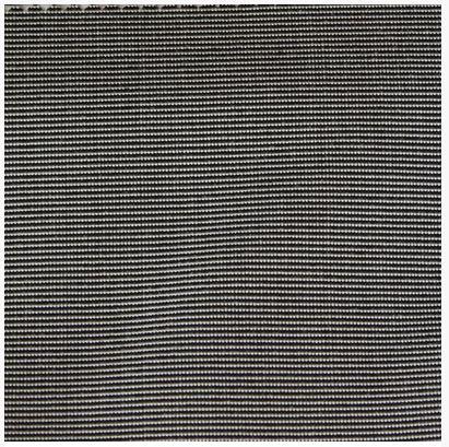 Material Swatch Black Pinstripe