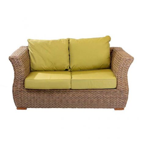 Bude 2 Seater Outdoor Rattan Garden Sofa. Outdoor sofas uk