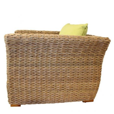 Bude Water Hyacinth Weave Armchair