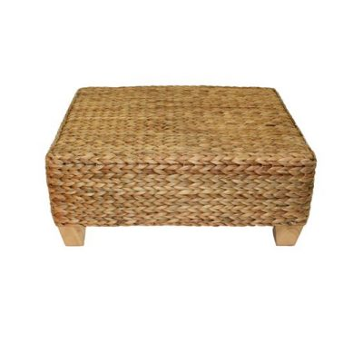 Bude Water Hyacinth Weave Coffee Table