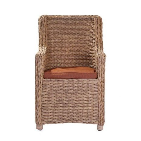 Bude Water Hyacinth Weave Dining Chair