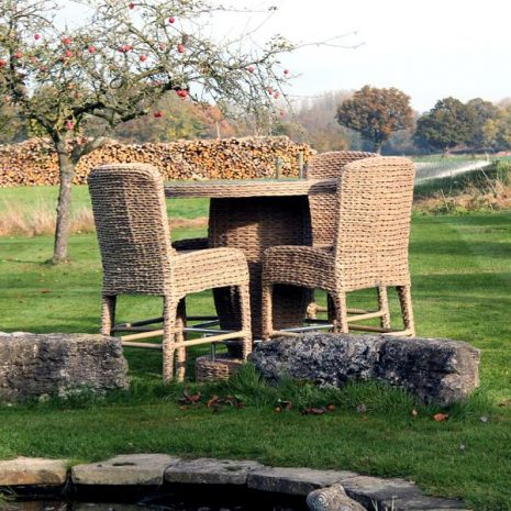 Bude 4 Seat and High Dining Bar Set