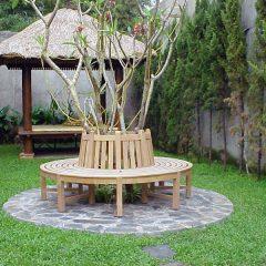 Circular Teak Tree Bench
