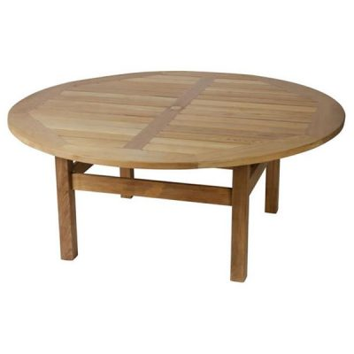 Constable 180cm Round Teak Garden Dining Table. Teak dining furniture. Constable 210cm Round Teak Garden Dining Table