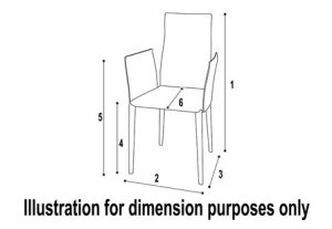 Furniture Dimensions - Bar Stool