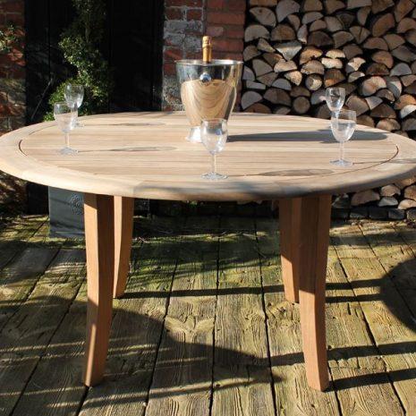Gainsborough 1.5m FSC Round Teak Table