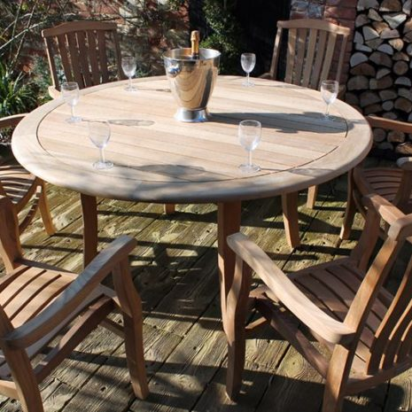 Gainsborough 1.5m FSC Round Teak Table
