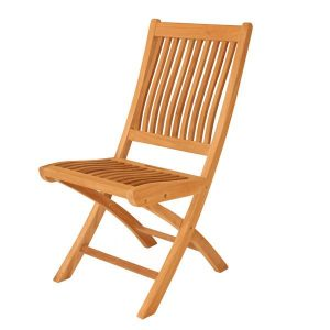 Gainsborough Folding Teak Chair. Dining folding chair