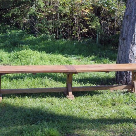 Hockney Reclaimed Teak Backless Bench
