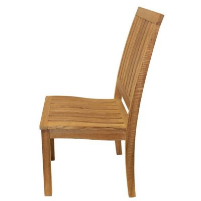 Hogarth Stacking Teak Dining Chair. Outdoor dining chair