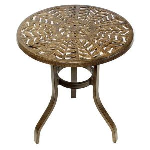 Bistro furniture. Forest Cast Aluminium Bistro Table.