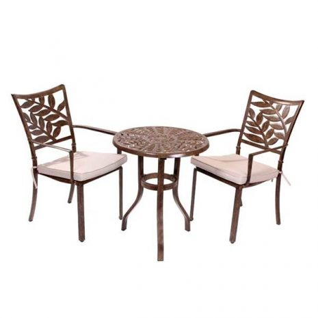 Bistro Sets for sale. Forest 2 Seater Cast Aluminium Bistro Set