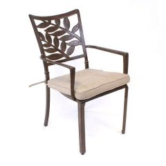 Forest Cast Aluminium Armchair Seat Cushion. Outdoor cushion. Garden chair cushion.