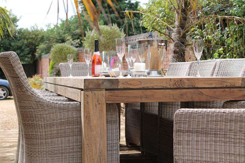 Lowry Reclaimed Teak 10 Seat Dining Set