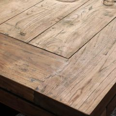 Lowry 2,2m Reclaimed Teak Table