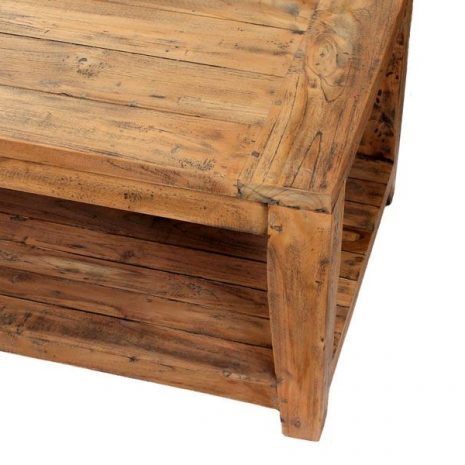 Lowry Reclaimed Teak Coffee Table