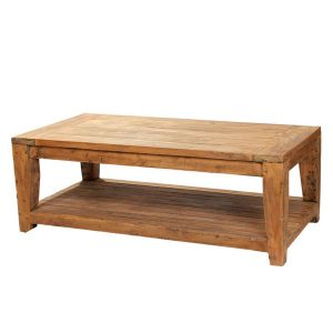 Lowry Reclaimed Teak Rectangular Coffee Table