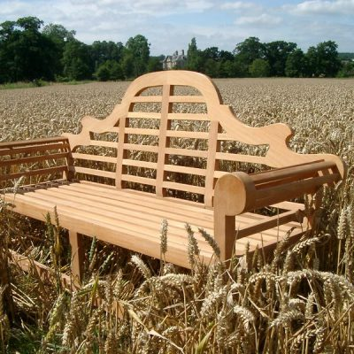 Lutyens Classic 3 Seater Garden Bench 150cm