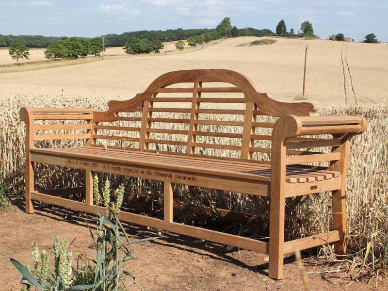 Classic 6-Seater Lutyens Extra Large 240cm Teak Garden Bench.