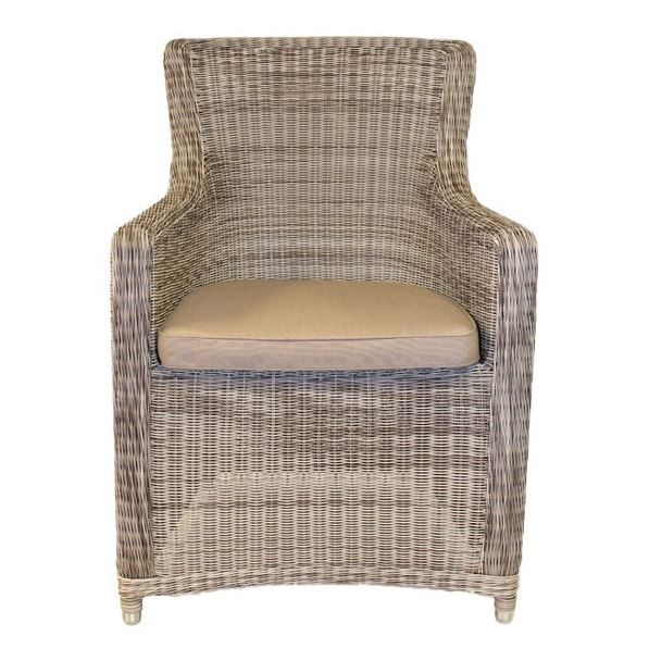Outdoor Dining Chair Seat Cushion Suitable For Scarborough Armchairs