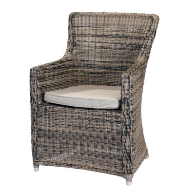 Scarborough Random Black Outdoor Rattan Garden Armchair