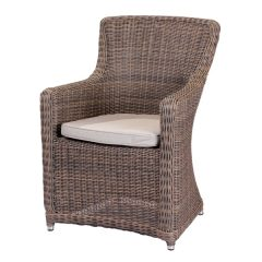 Scarborough Summergrass Outdoor Garden Rattan Armchair