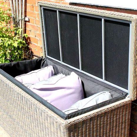 Scarborough Rattan Cushion Storage Box