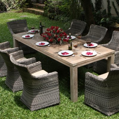 Scarborough Rattan Chair Dining Suite
