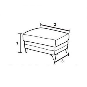 Furniture Dimensions - Footstool