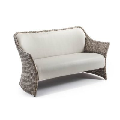 Sandbanks AquaMax 2 Seater Outdoor Rattan Garden Sofa. Rattan Sofas.