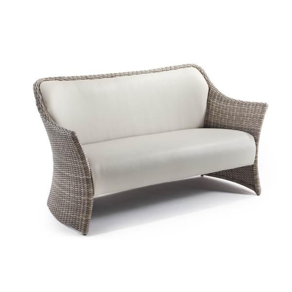 Sandbanks AquaMax 2 Seater Outdoor Rattan Garden Sofa