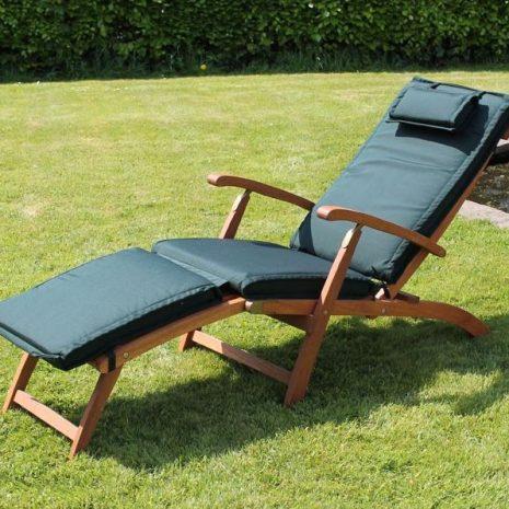 Steamer Chair Cushion Forest Green