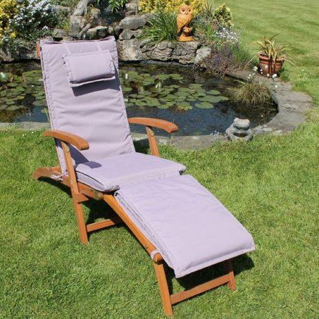 Steamer Chair Cushion Lilac