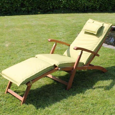 Steamer Chair Cushion Lime Green