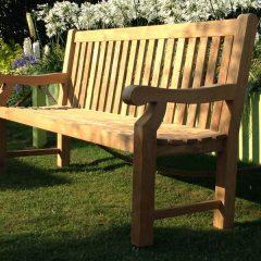 Tennyson 150cm Teak Park Bench