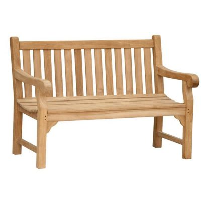 Wordsworth 1.3m Teak Bench