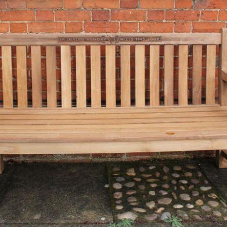 Wordsworth 1.5m Teak Bench