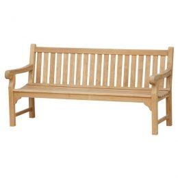 Wooden Benches for Gardens. Wordsworth Solid Teak Garden Bench 5 Seater 180cm