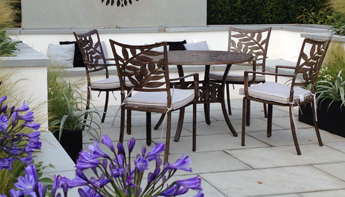 Cinnamon Leaf Aluminium Furniture