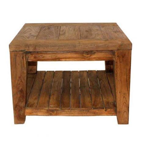 Lowry Reclaimed Teak Side Table