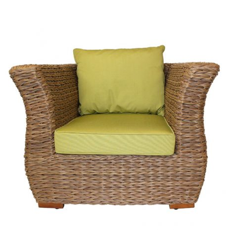 Bude Armchair Cushion Lime Green