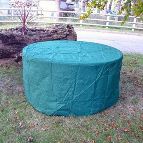 Heavy Duty Waterproof 180cm Round Table Cover. Heavy Duty Waterproof 150cm Round Table Cover.