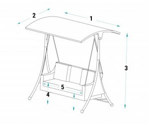 Swing Seat Dimensions