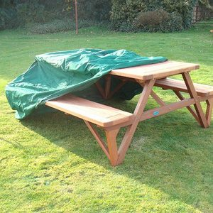 Heavy Duty Waterproof A Frame Picnic Table Cover
